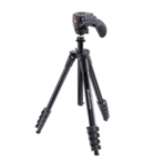 Manfrotto Compact Action Aluminum Tripod:MKCOMPACTACN